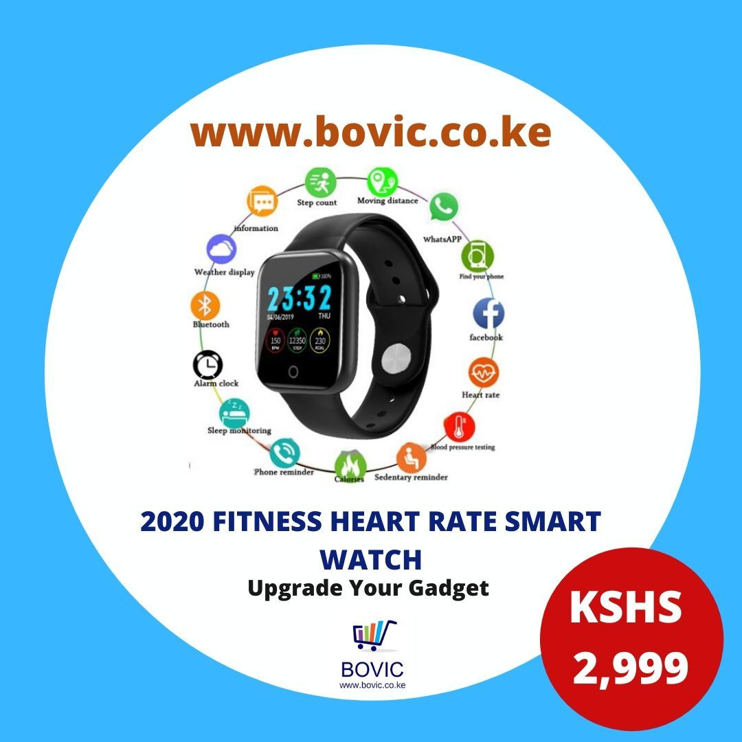 Heart rate sports watch activity tracker i5 in 2020