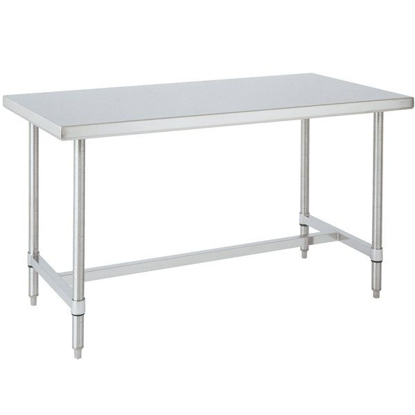 14 Gauge Metro Wt309hs 30 X 96 Hd Super Open In 2020 Stainless Steel Work Table Stainless Steel Prep Table Stainless Steel Table