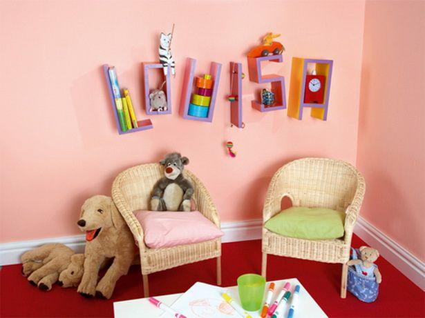 Fancy Kinderzimmer selbst gestalten