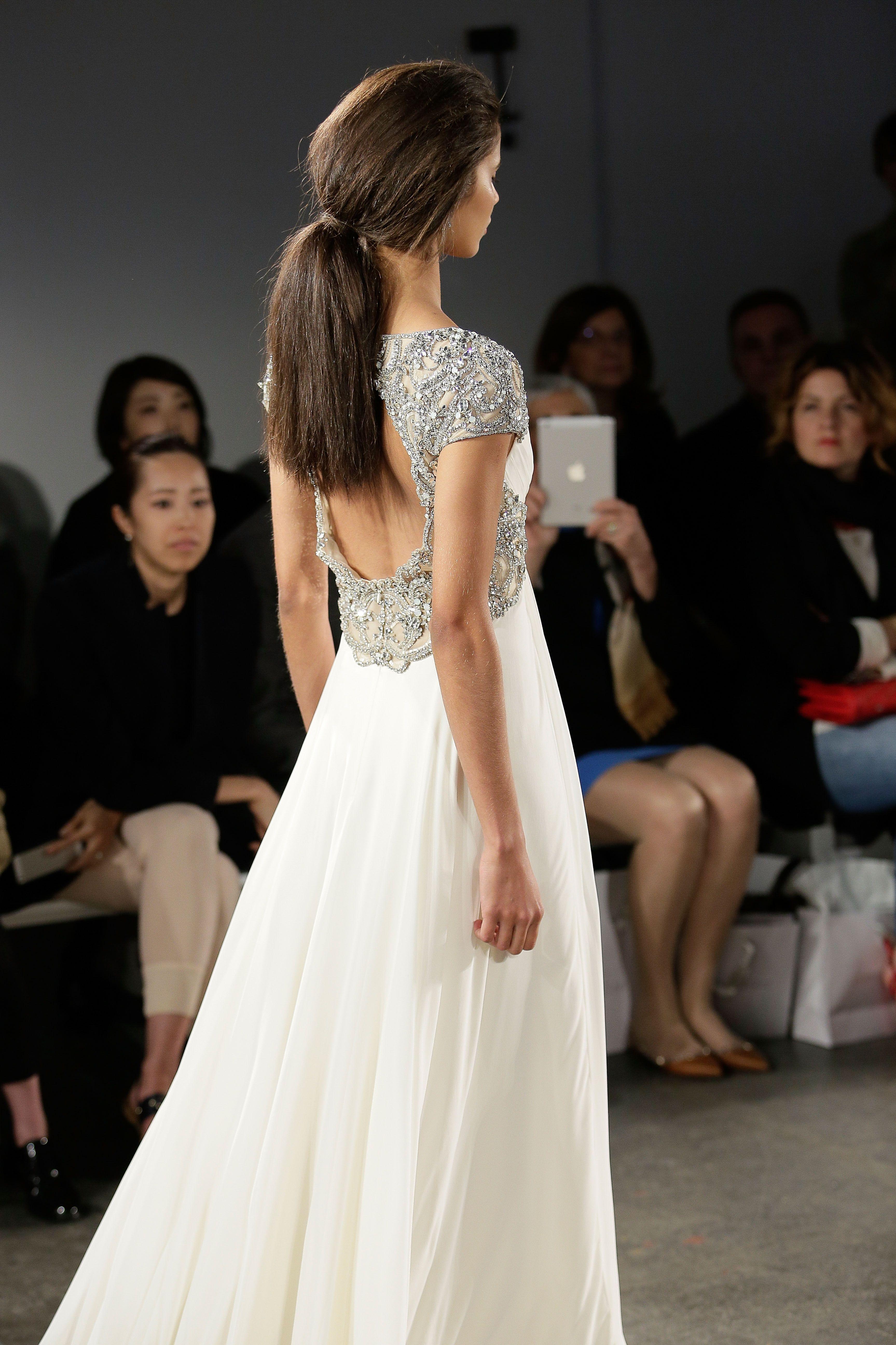 Jenny Packham 2015 Bridal Collection - Noa Wedding Dress (Back ...