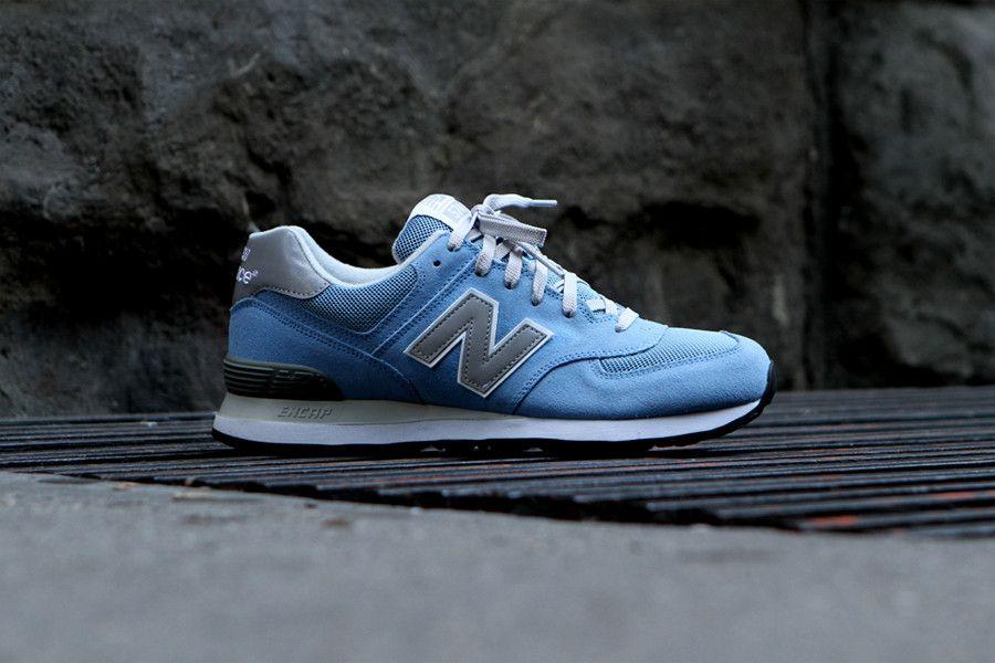 new balance light blue