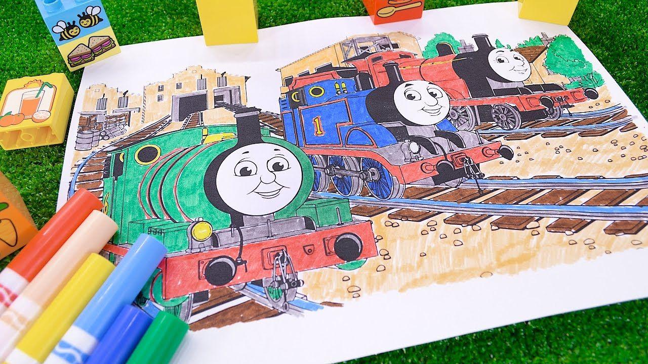 Kids N Fun Coloring Page Thomas The Train Thomas The Train Train Coloring Pages Birthday Coloring Pages Cool Coloring Pages