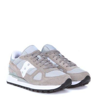Laterale tessuto Sneaker Saucony Shadow in suede e tessuto Laterale grigio H Brands a2897e