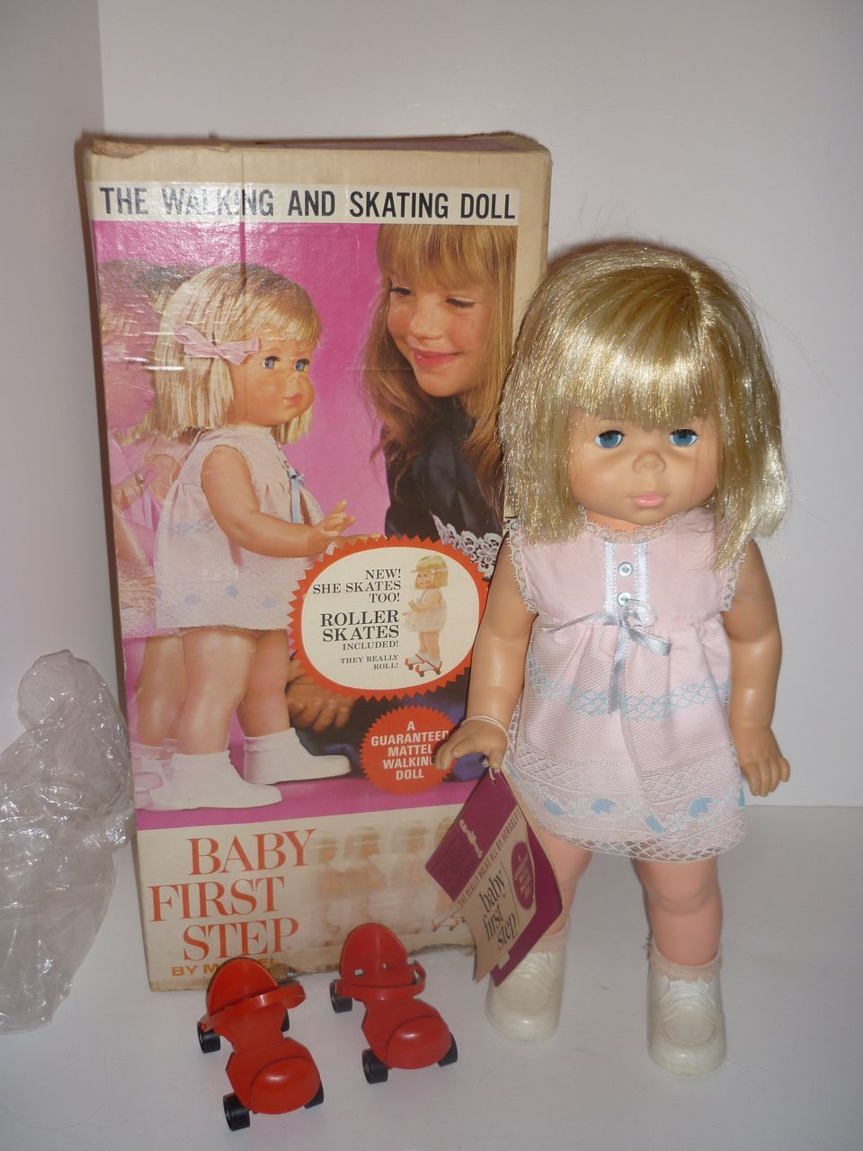 Quot Baby First Step Quot Doll Made By Mattel C 1960 S Mattel
