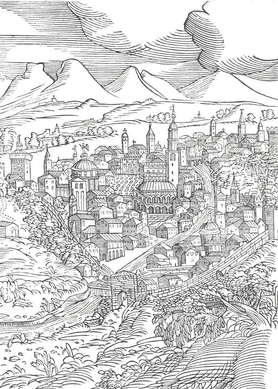 La Città di Vicenza 1604