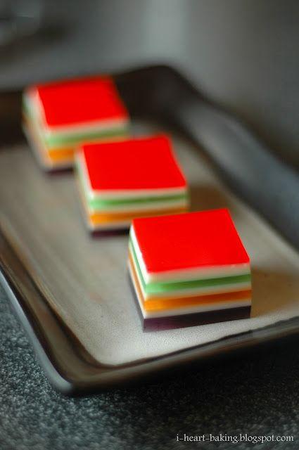 Seven Layer Rainbow Jello Rainbow Jello Jello Recipes Layered Jello