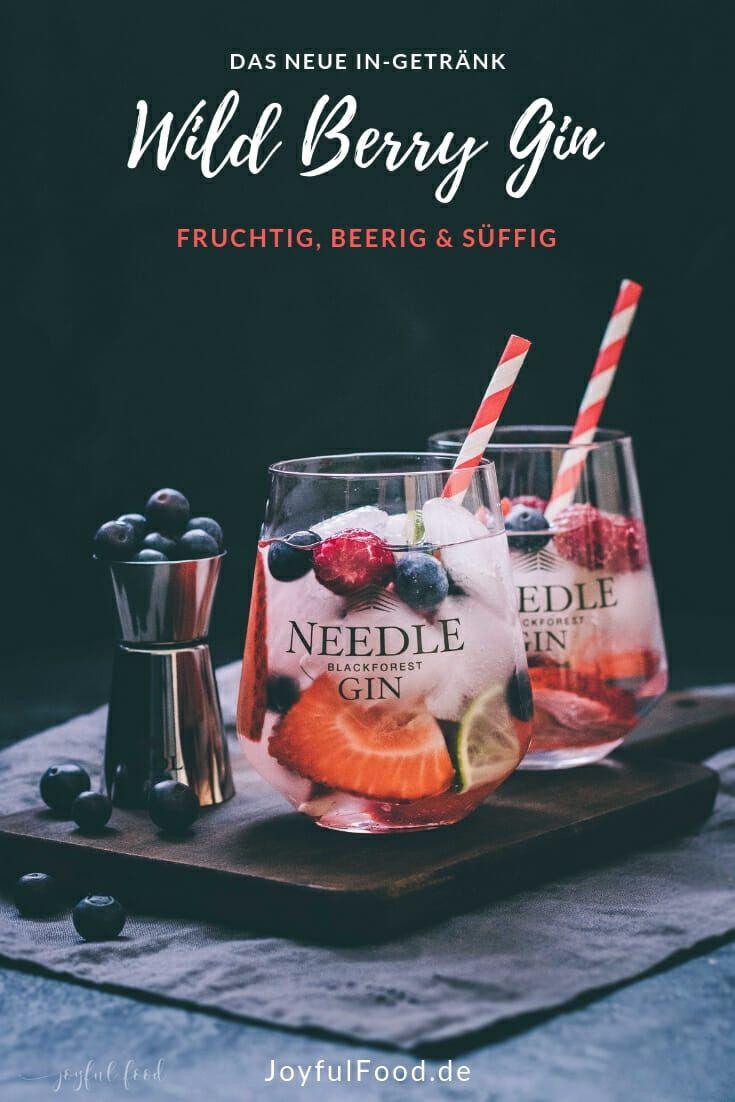 Photo of Gin Tonic Rezept: Wild Berry Gin mit Needle Gin | Joyful Food