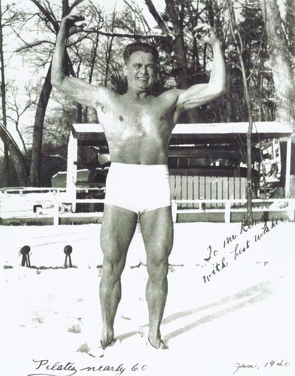 Joe pilates at 60 with images pilates poses joseph