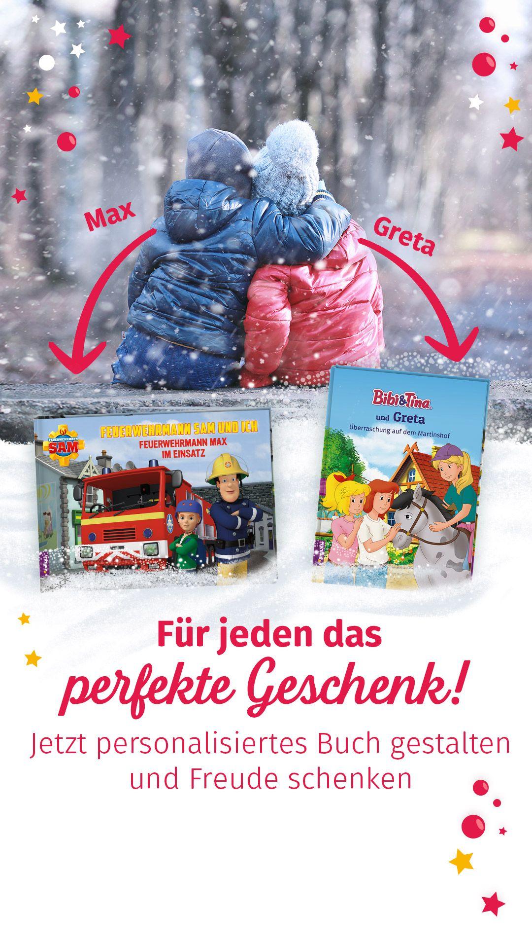 Personalisierte Kinderbücher mit Kinderhelden #persönlichegeschenke