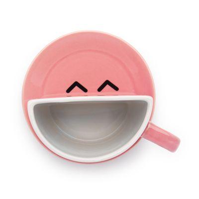 Xícara de Pires Sorrindo - R$39.90