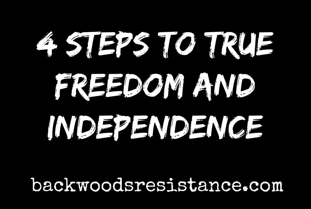 4 Steps To Freedom and independence