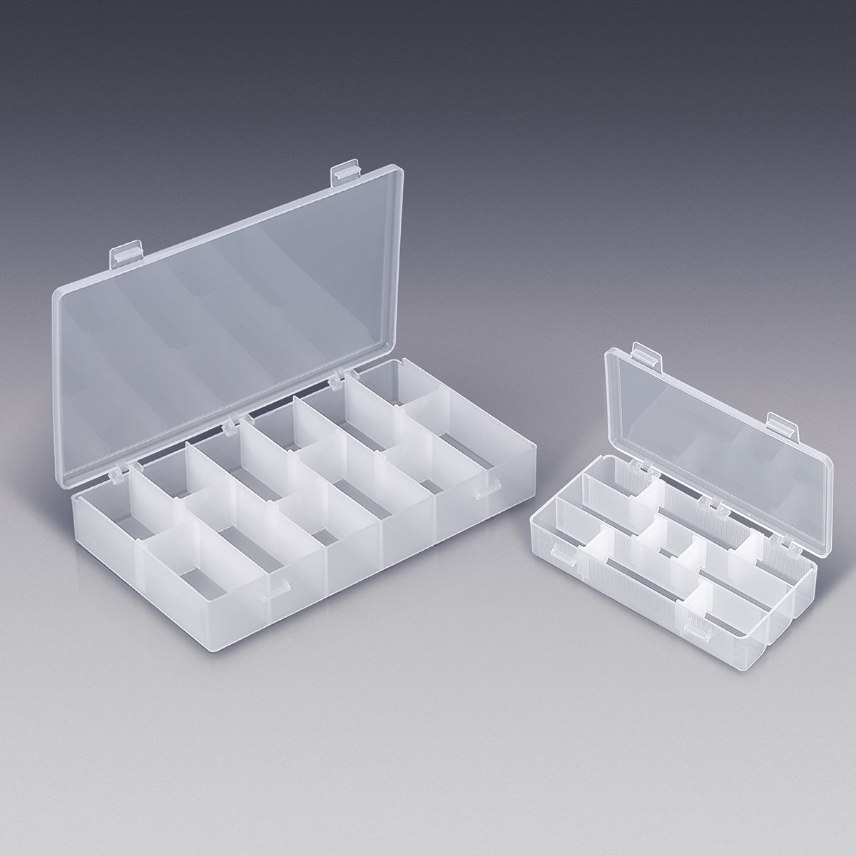 Ready to Fill! These empty beauty supply organizers are perfect for storing your disposable cosmetic applicators and hair accessories such as bobby pins, hair pins, duck bill clips and hair bands.