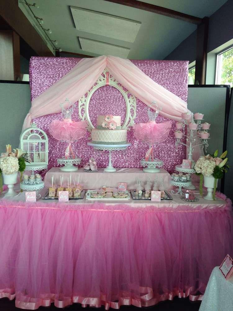 Ballerina Baby Shower Party Ideas | Photo 16 of 33