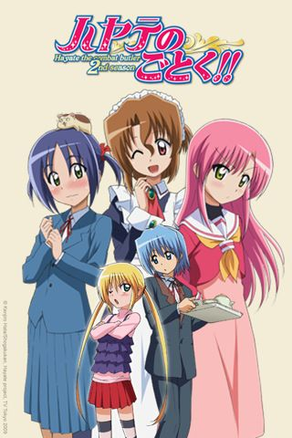Hayate No Gotoku! Episode 01