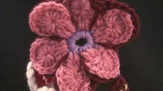Ecliptic Crochet Flower