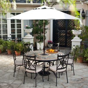 Wrought Iron Patio Chairs Costco Modern Outdoor Throughout Perfect Set Decor