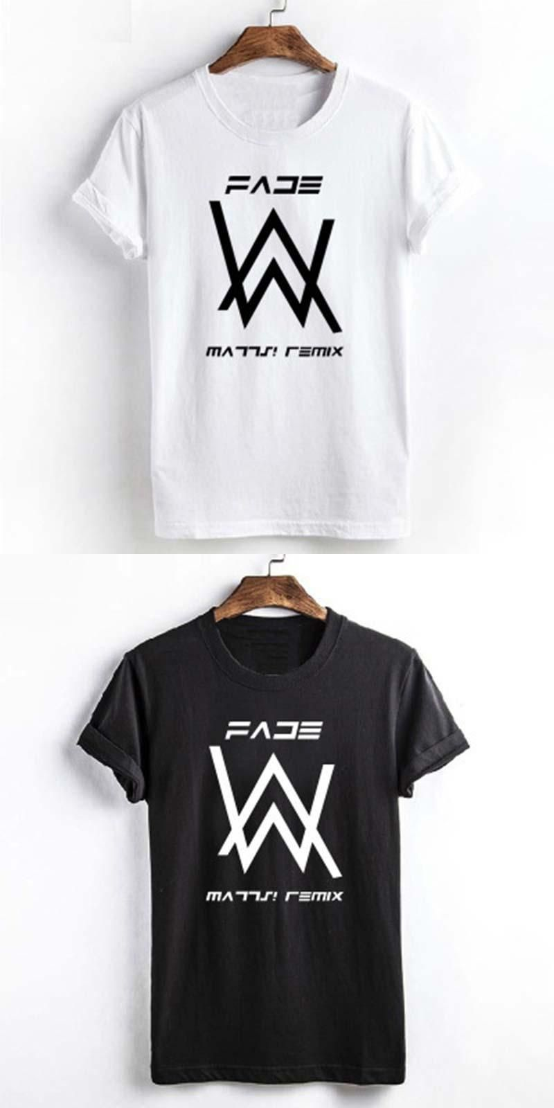 52035b1e3 Alan walker faded T-shirts summer t-shirt alan walker t shirt homme ...