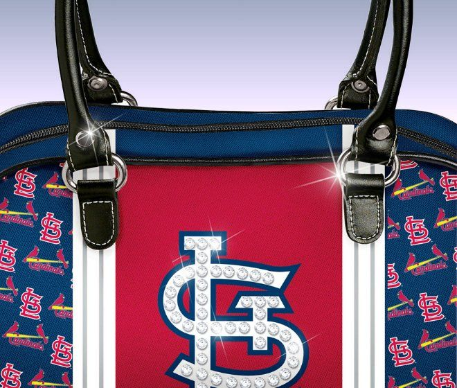 St. Louis Cardinals City Chic Handbag - detail