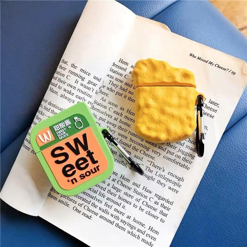 MACDONALD NUGGET & SWEET N SOUR SAUCE AIRPOD CASE on