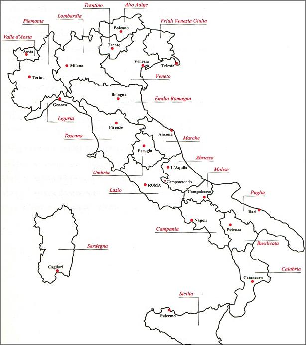 Cartina Dellitalia Con Capoluoghi Di Regione.Cartina Dell Italia Con Capoluoghi Di Regione Ricerca Google Attivita Geografia Geografia Matematica