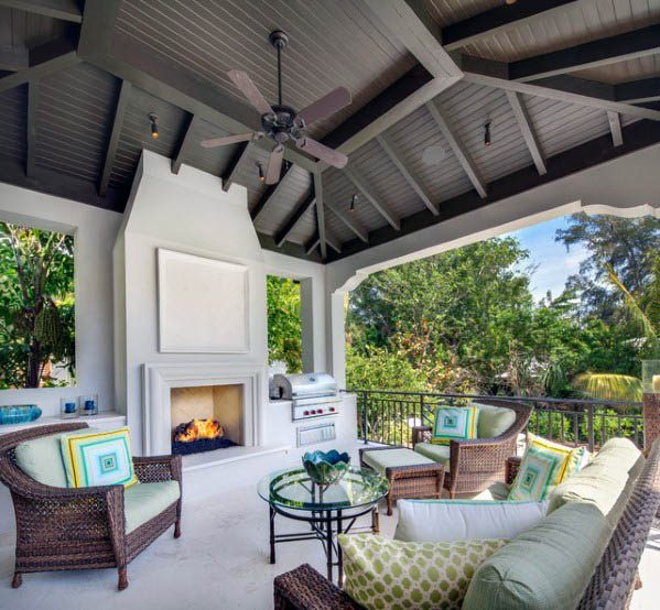 Top 50 Best Patio Ceiling Ideas Covered Outdoor Designs In 2020 Patio Ceiling Ideas Outdoor Living Rooms Outdoor Rooms