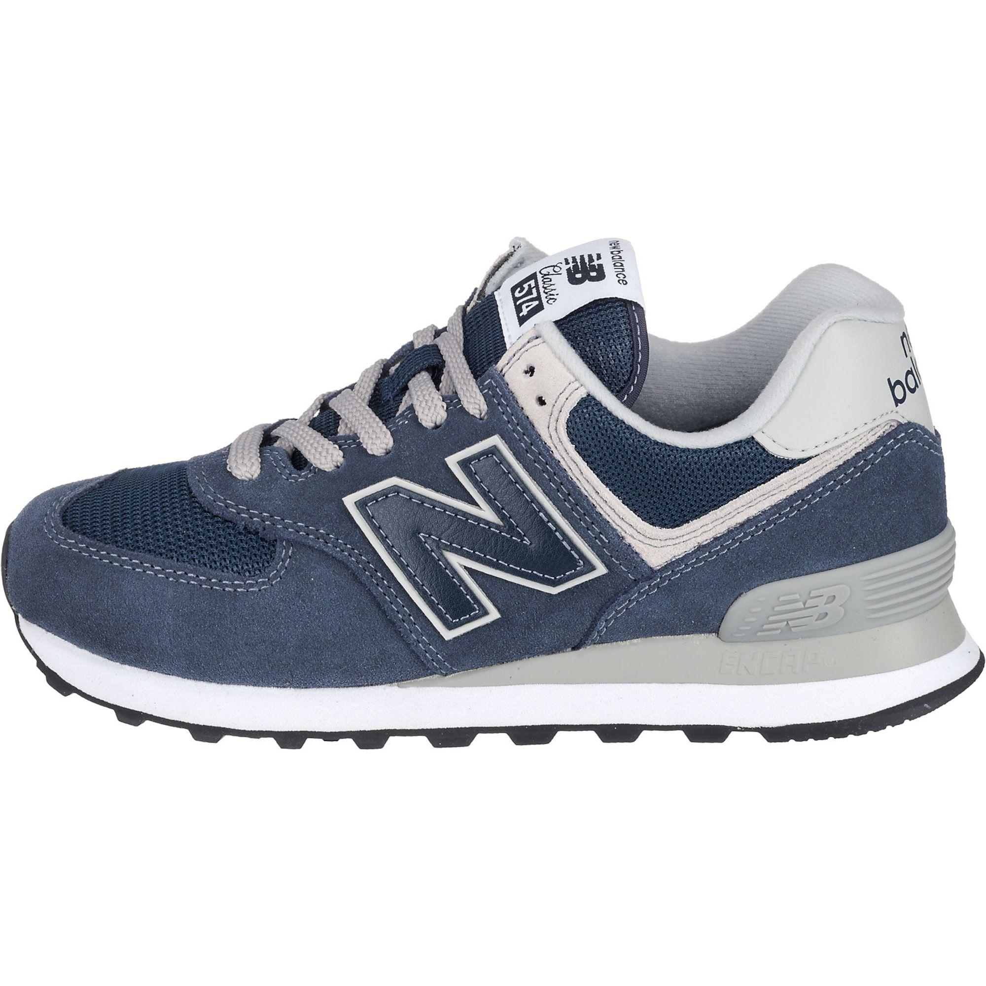 New Balance Sneakers Wl574eb Damen Blau Grau Weiss Grosse 36 5 Blau Grau Blau New Balance
