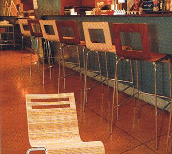 Cool Wood Chairs Not Too Expensive Bentwood And Chrome Restaurant