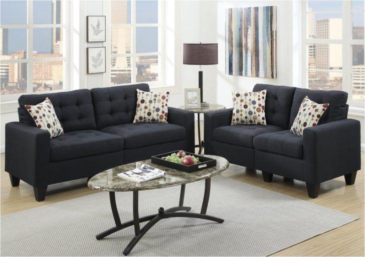 traditional black living room furniture sets polyester tufted sofa