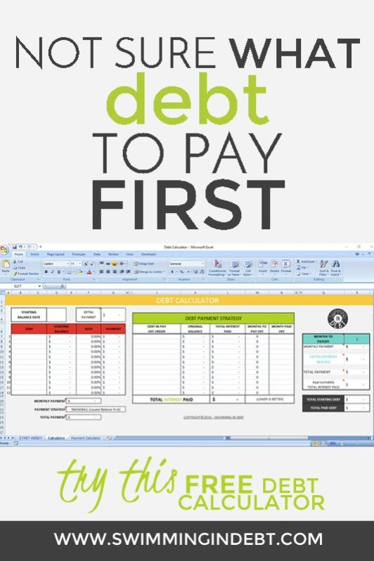 Paying Off The Debt  Part   Calculator Free And Budgeting