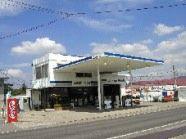 (株)アイダエナジー本社・穂高SS  給油と湧水が補給できます。