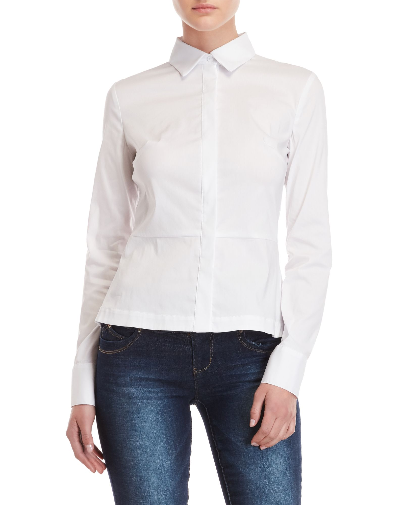 Bailey 44 Womens Bette Lace Up Back Blouse
