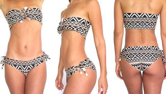 DIY NO-SEW Bikini! | Justina Blakeney Est. 1979