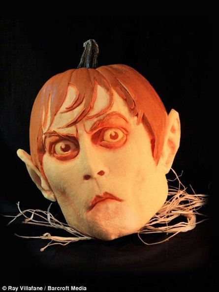 a whole new level of pumpkin carving, halloween decorations, seasonal holiday d cor