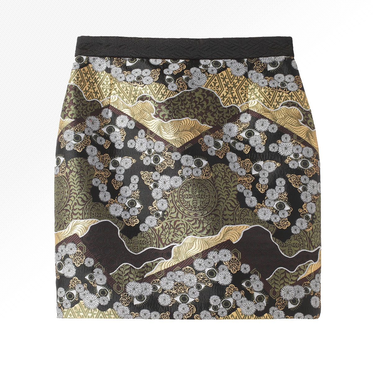 Looming Ahead 25 Ways To Wear Tapestry And Brocade Mini Skirts Proenza Brocade