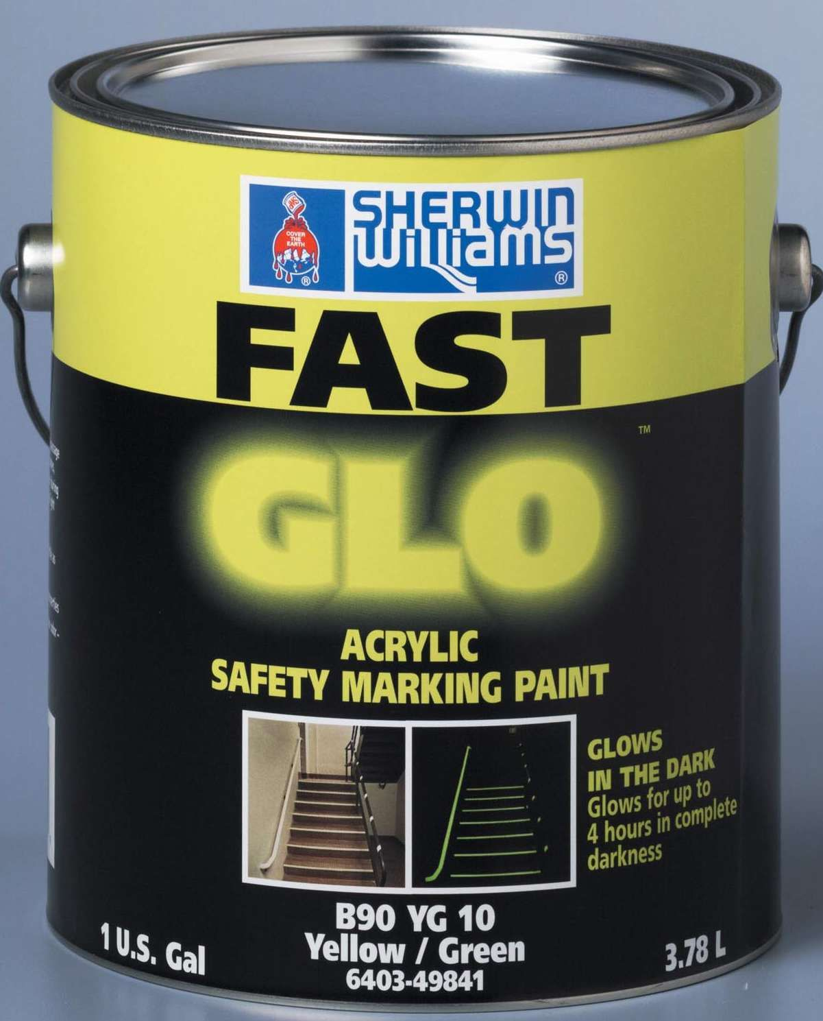 Exterior Glow Paint Paint glows in the dark for 4 hours