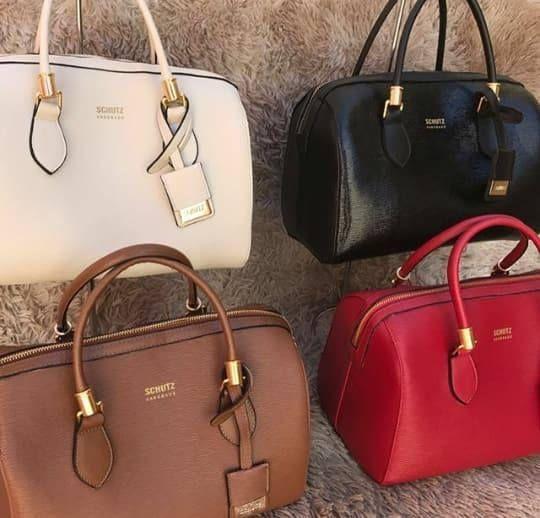 a79a5f5fe Bolsa baú Schutz liso | Moda e acessórios | Bolsas, Bolsa schutz e Bau