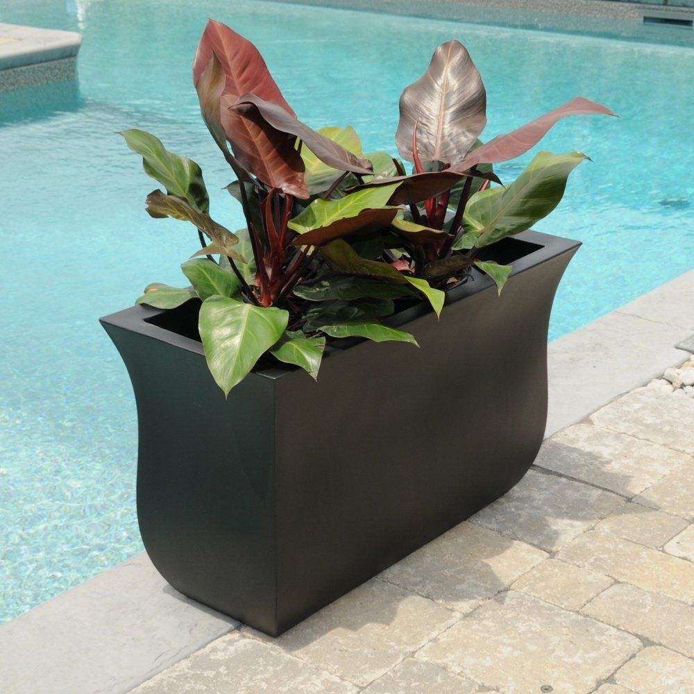 Belham Living Valencia 36 X 16 In Planter Planters At Hayneedle