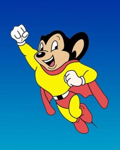 Mighty Mouse Super Raton Dibujos Animados Clasicos Caricaturas De Los 70 Comics Y Dibujos Animados