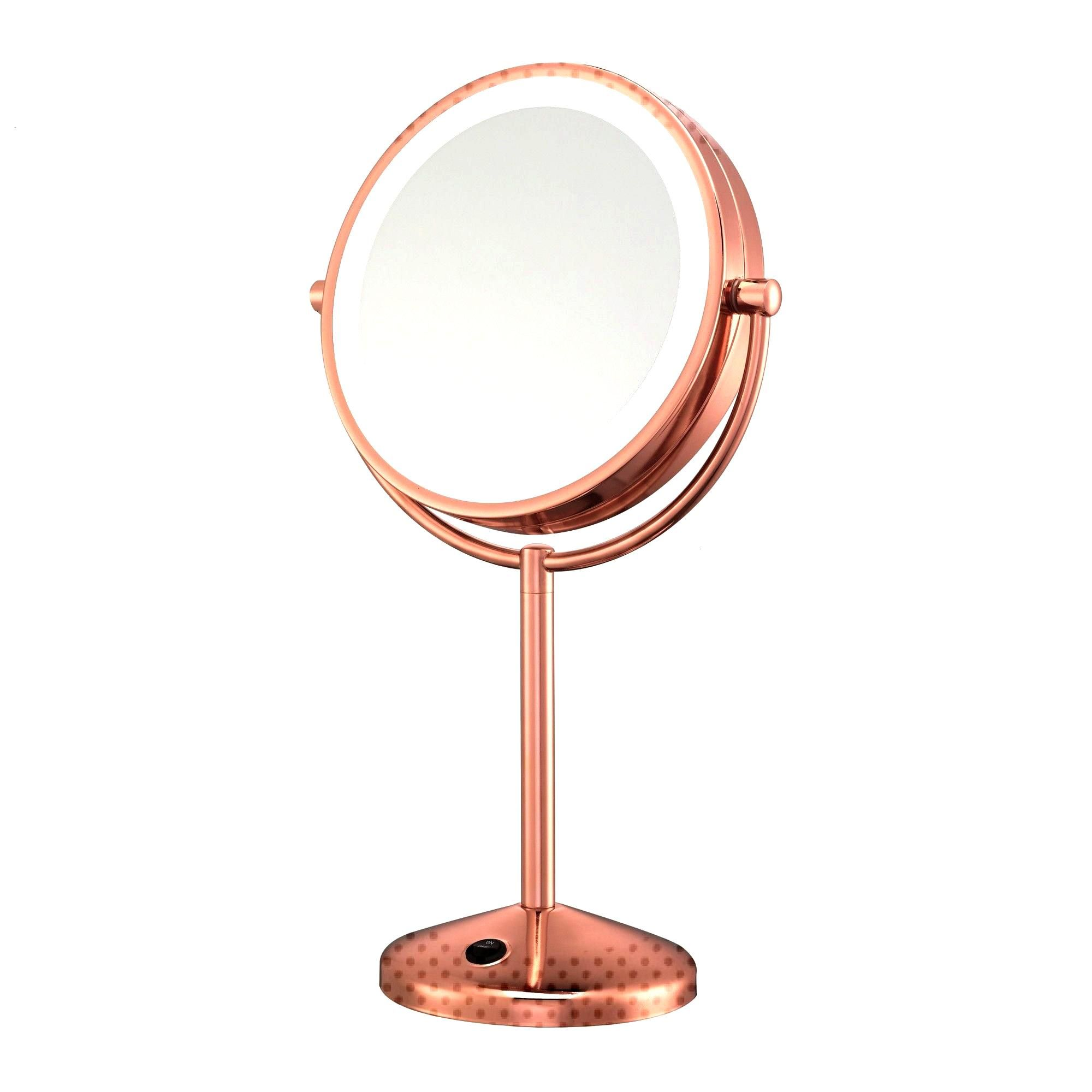 Conair Makeup Mirror 1x10x Rose Gold Led Conair 1x 10x Led