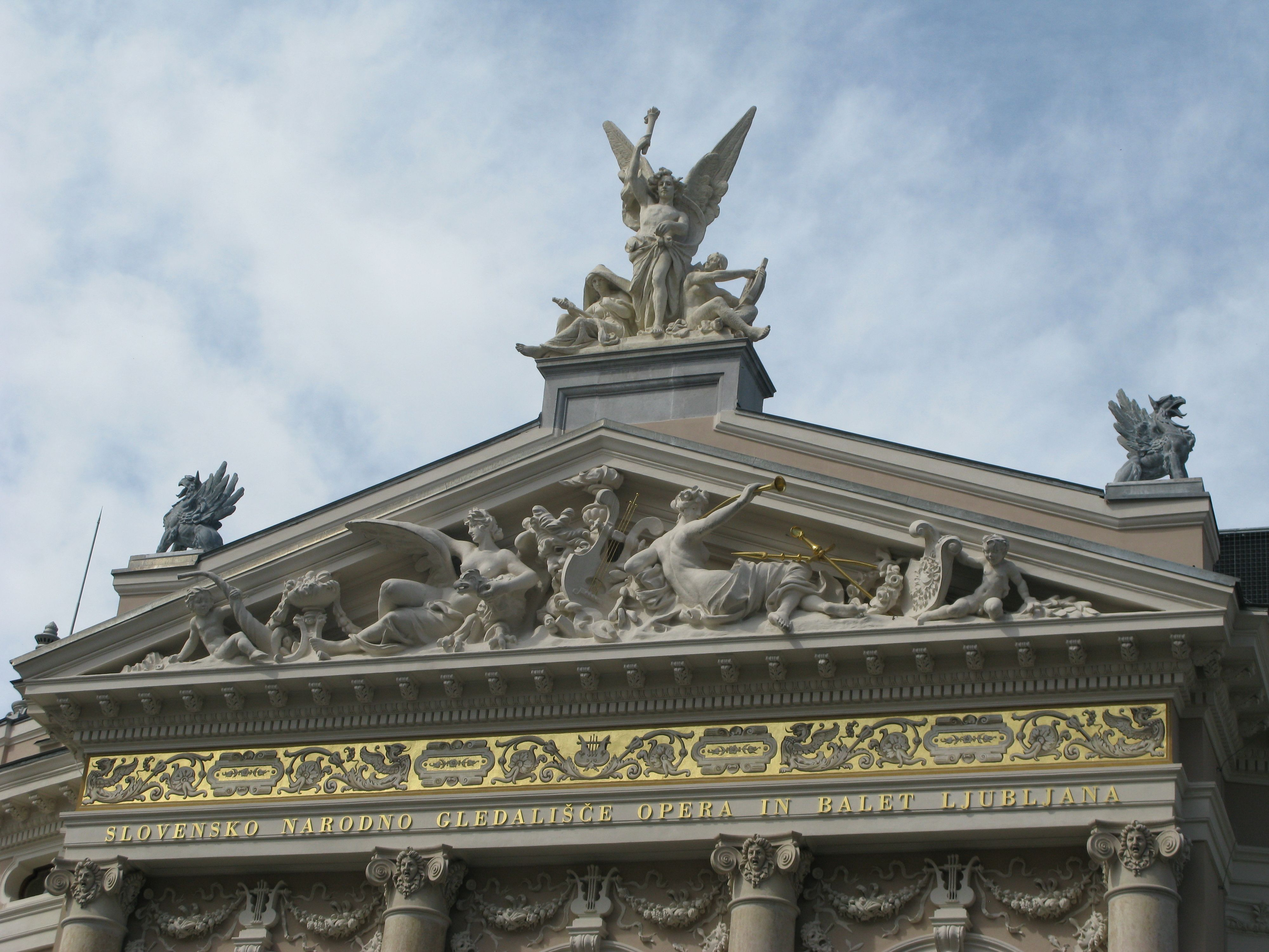...Opera House Ljubljana Slovenija Central europe