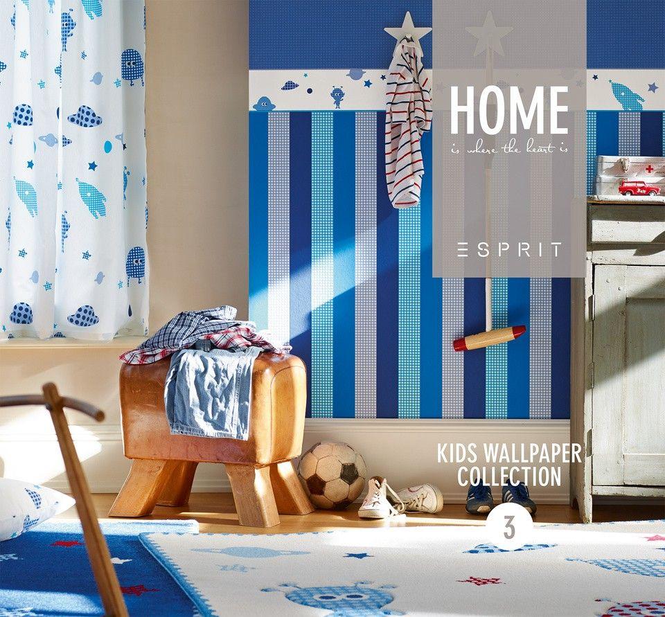 Kinderborte Esprit Kids Weltall cremeweiß bunt 94126-1 | Kids ...