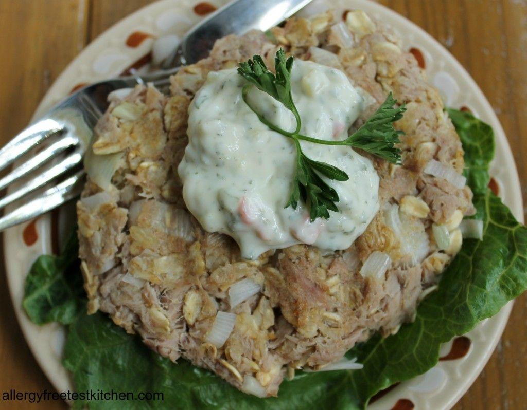 Tuna Patties Made Gluten Free, Egg Free and Milk Free ...
