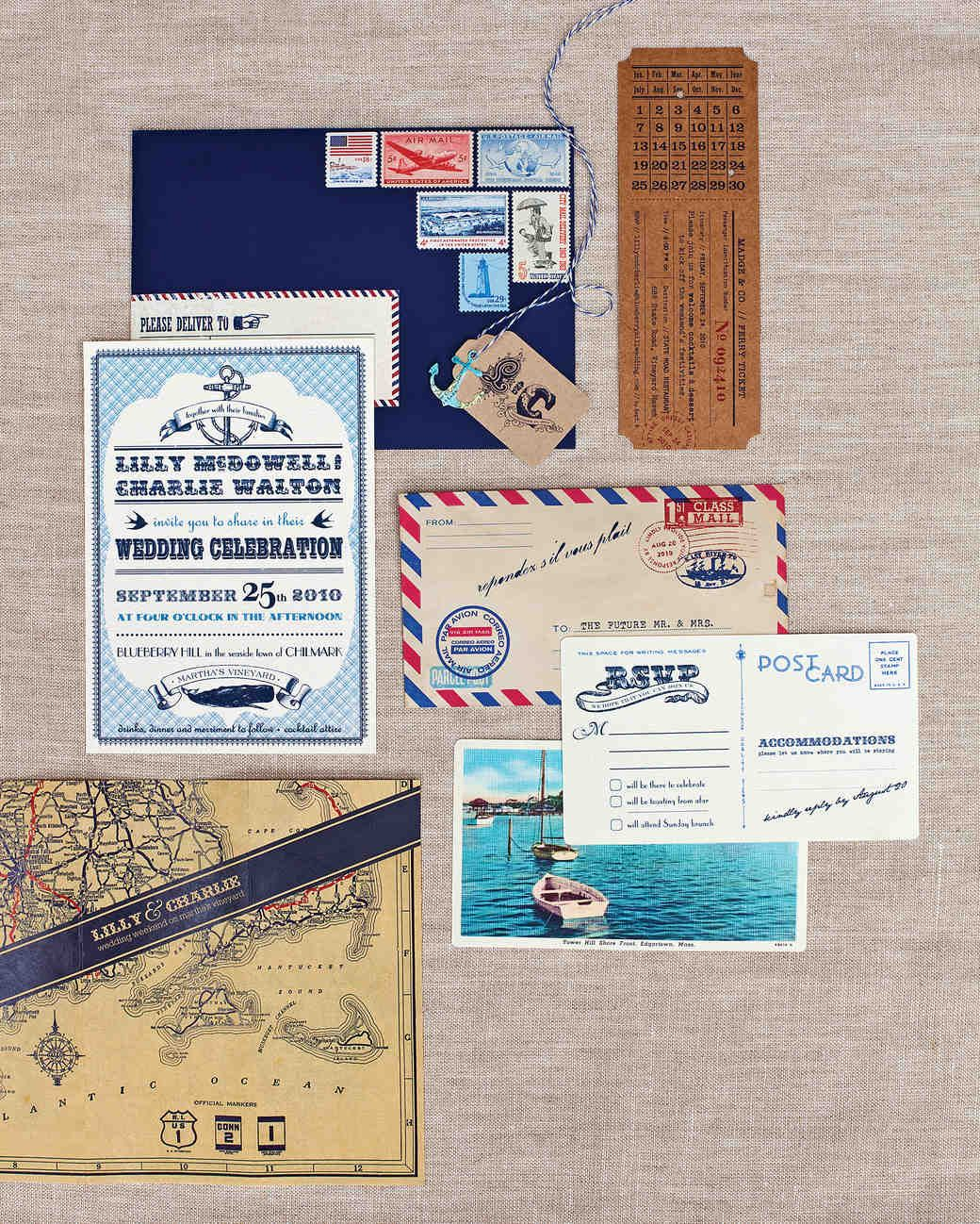 Best Wedding Colors From Real Celebrations Nautical Wedding Invitations Wedding Invitations Stationery Nautical Wedding