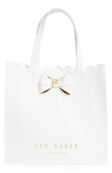 b9bc745ccee TED BAKER 'Large Icon - Bow' Tote. #tedbaker #bags #hand bags #pvc #tote #