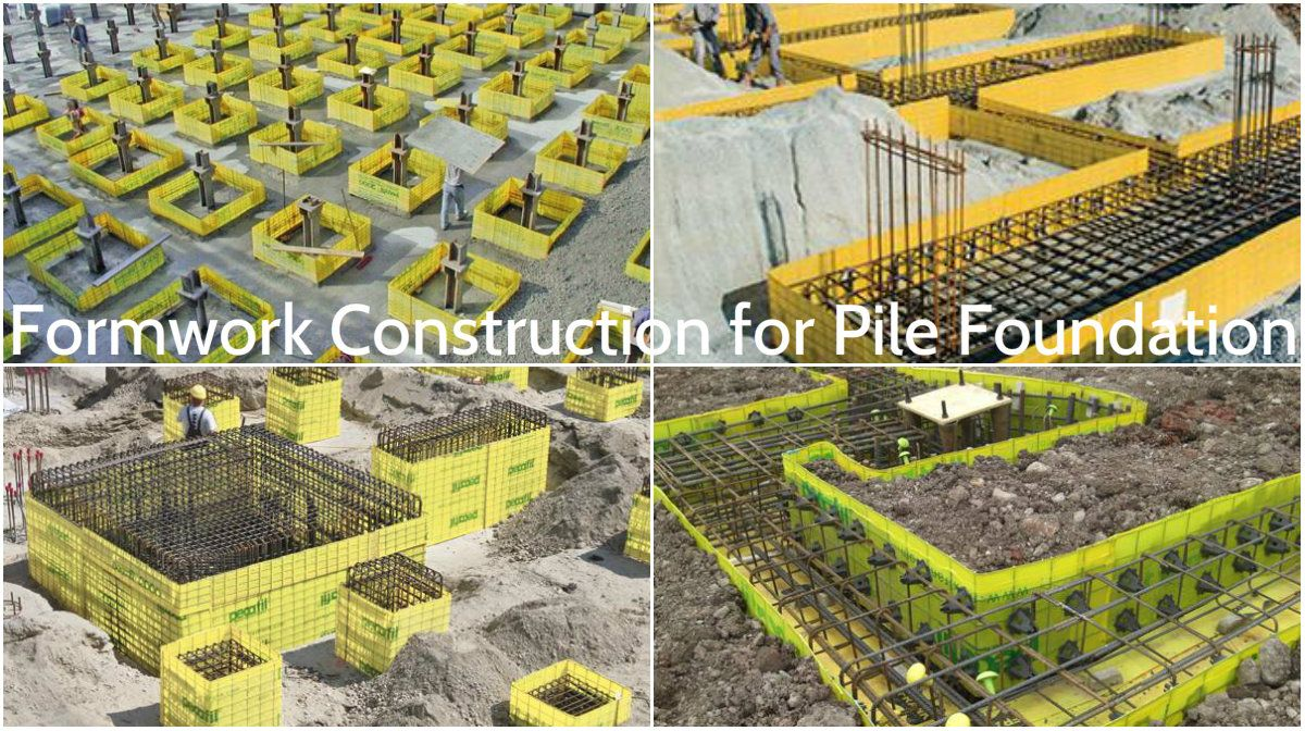 Specific formwork construction that makes the pile foundation build specific formwork construction that makes the pile foundation build easier and faster architecture admirers solutioingenieria Image collections