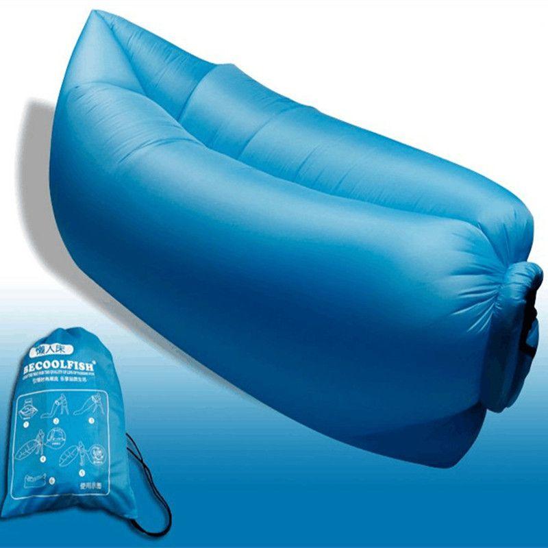 big size beach portable outdoor inflatable bone furniture sofa hammock sleeping camping air bed nylon lazy big size beach portable outdoor inflatable bone furniture sofa      rh   pinterest