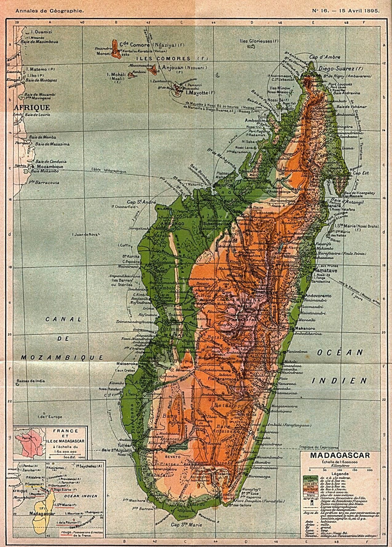 1895 map of madagascar mapmania pinterest madagascar 1895 map of madagascar gumiabroncs Gallery