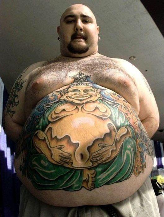 Buddha Belly Weird Tattoos Buddha Tattoo Belly Button Tattoo