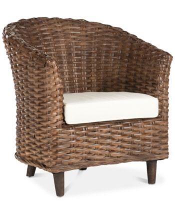Safavieh Manson Barrel Chair Quick Ship Amp Reviews
