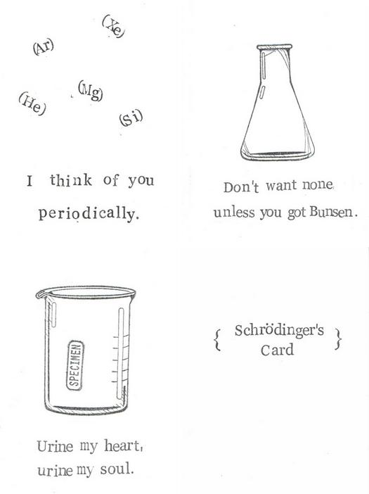 Chemistry Pun Science Humor Valentines | Etsy, $4.00